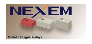 NEC/TOKIN Miniature Signal Relays